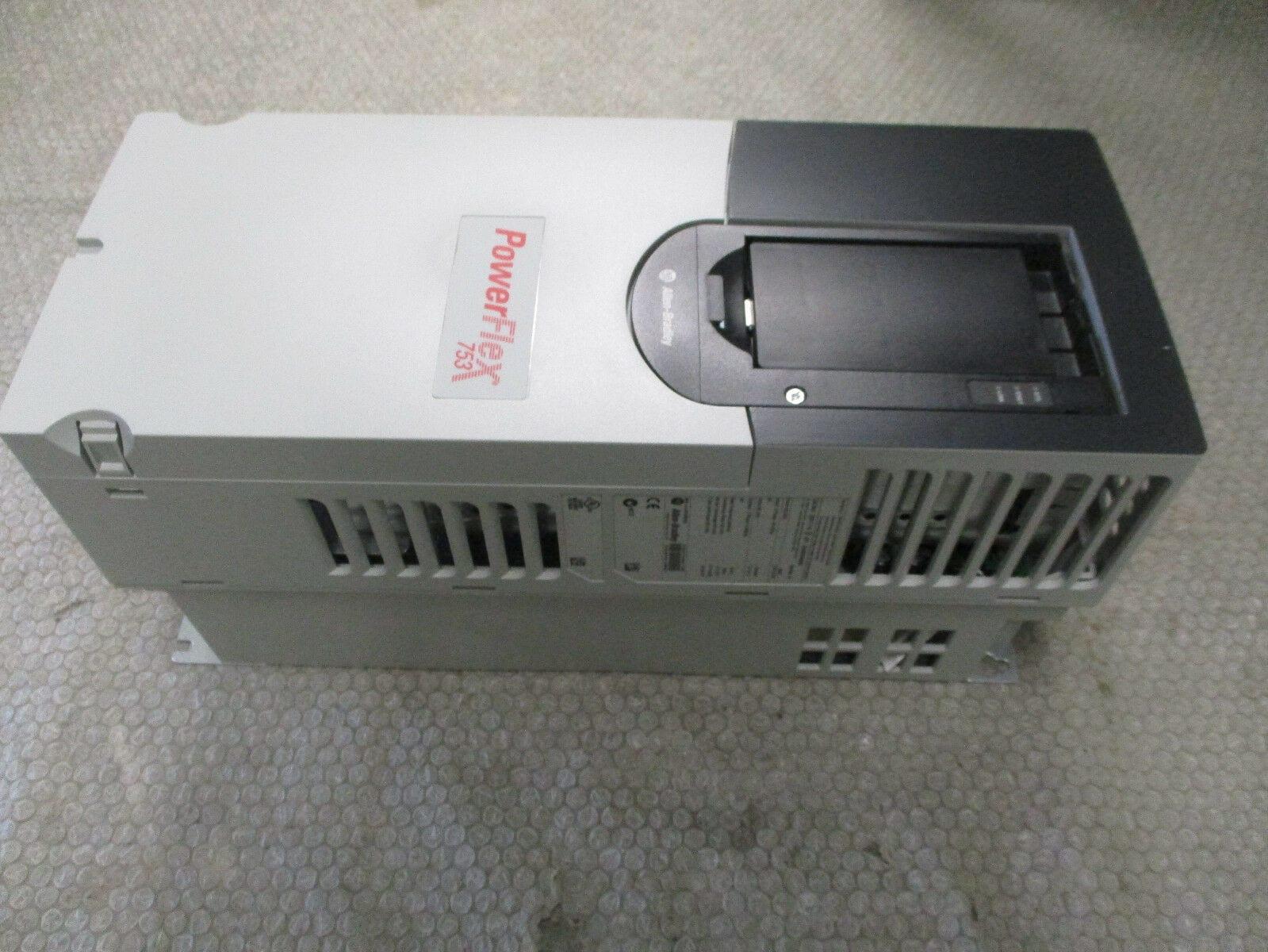 Allen Bradley 20F11NE6P1AA0NNNNN Powerflex 753 AC Drive 5/3HP 600V SerA  *Tested*