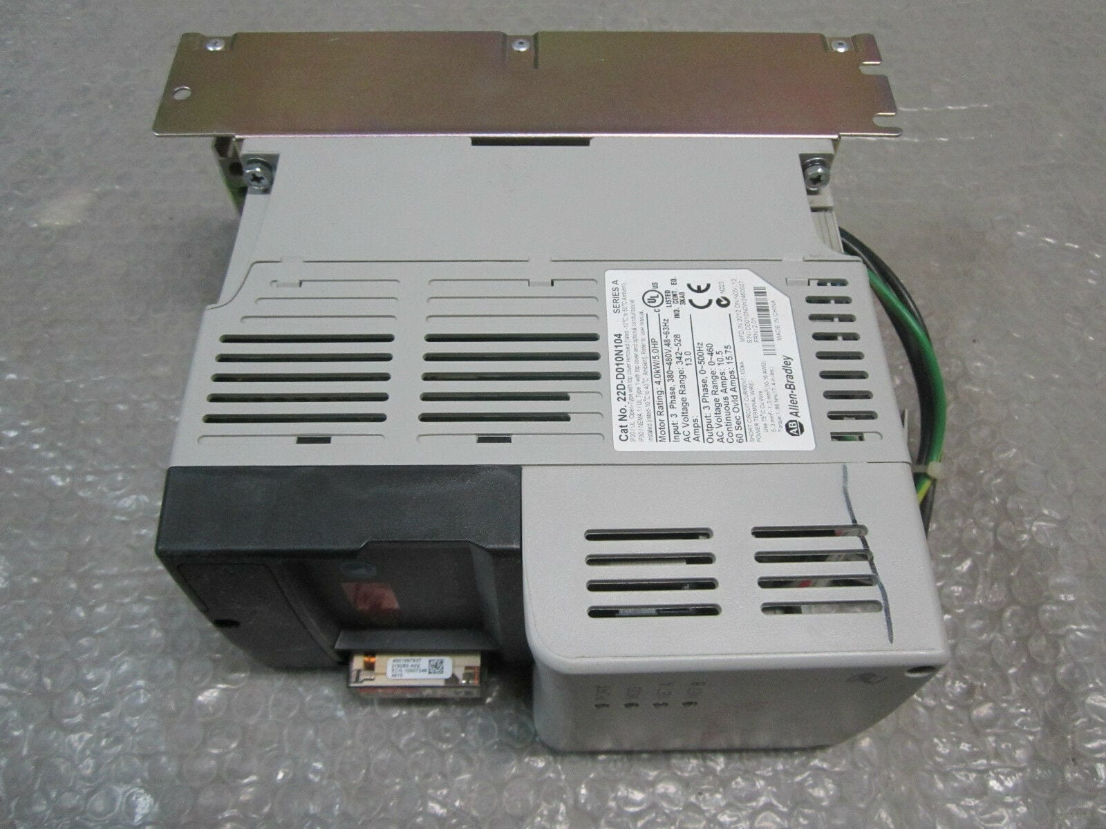 Allen Bradley 22D-D010N104 PowerFlex 40 AC Drive 480VAC 4 0kW 5HP *Fully  Tested*