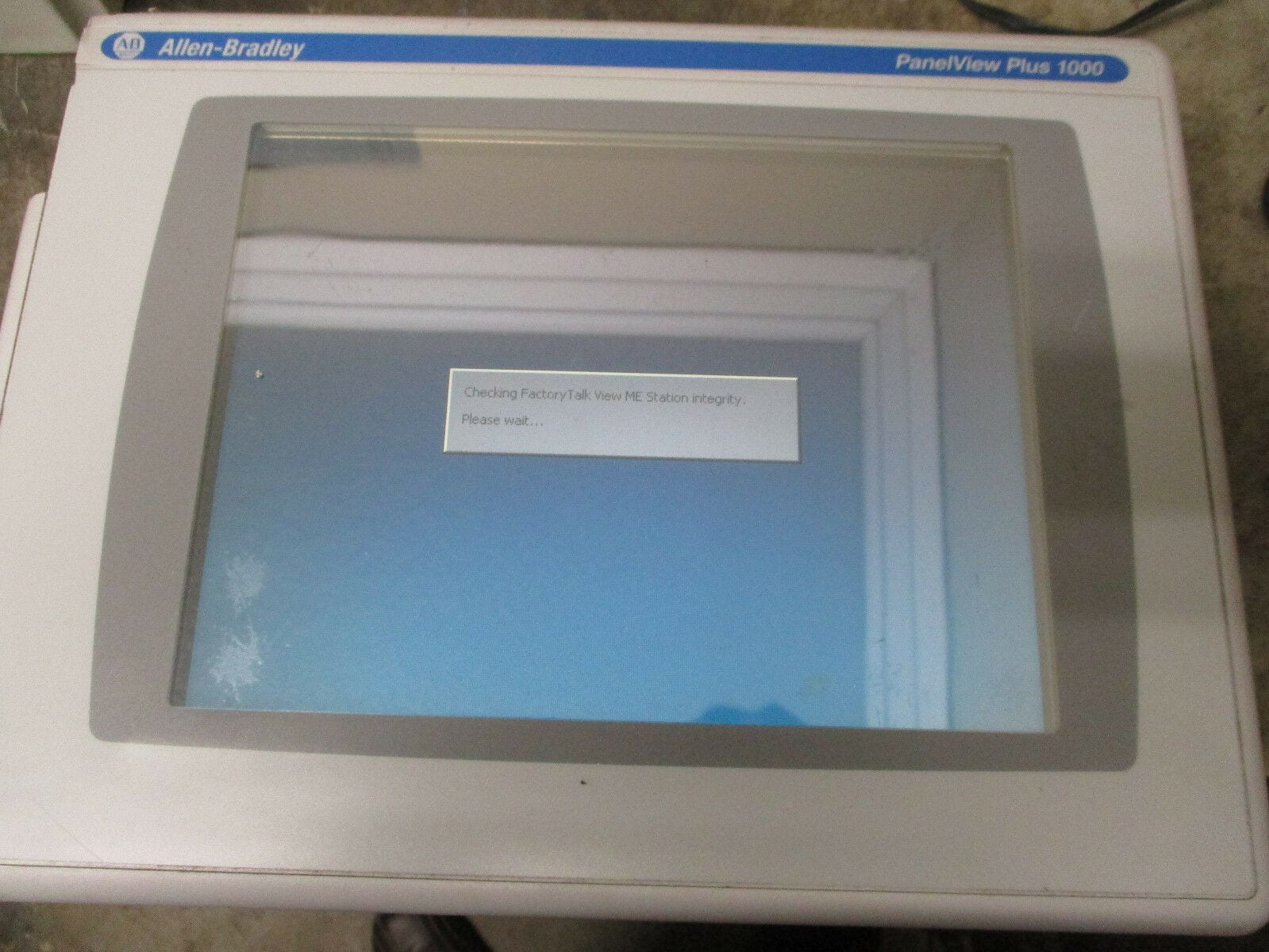 Allen Bradley 2711P-T10C6A2 Panelview Plus 1000 HMI display Module Ser  A*Tested*