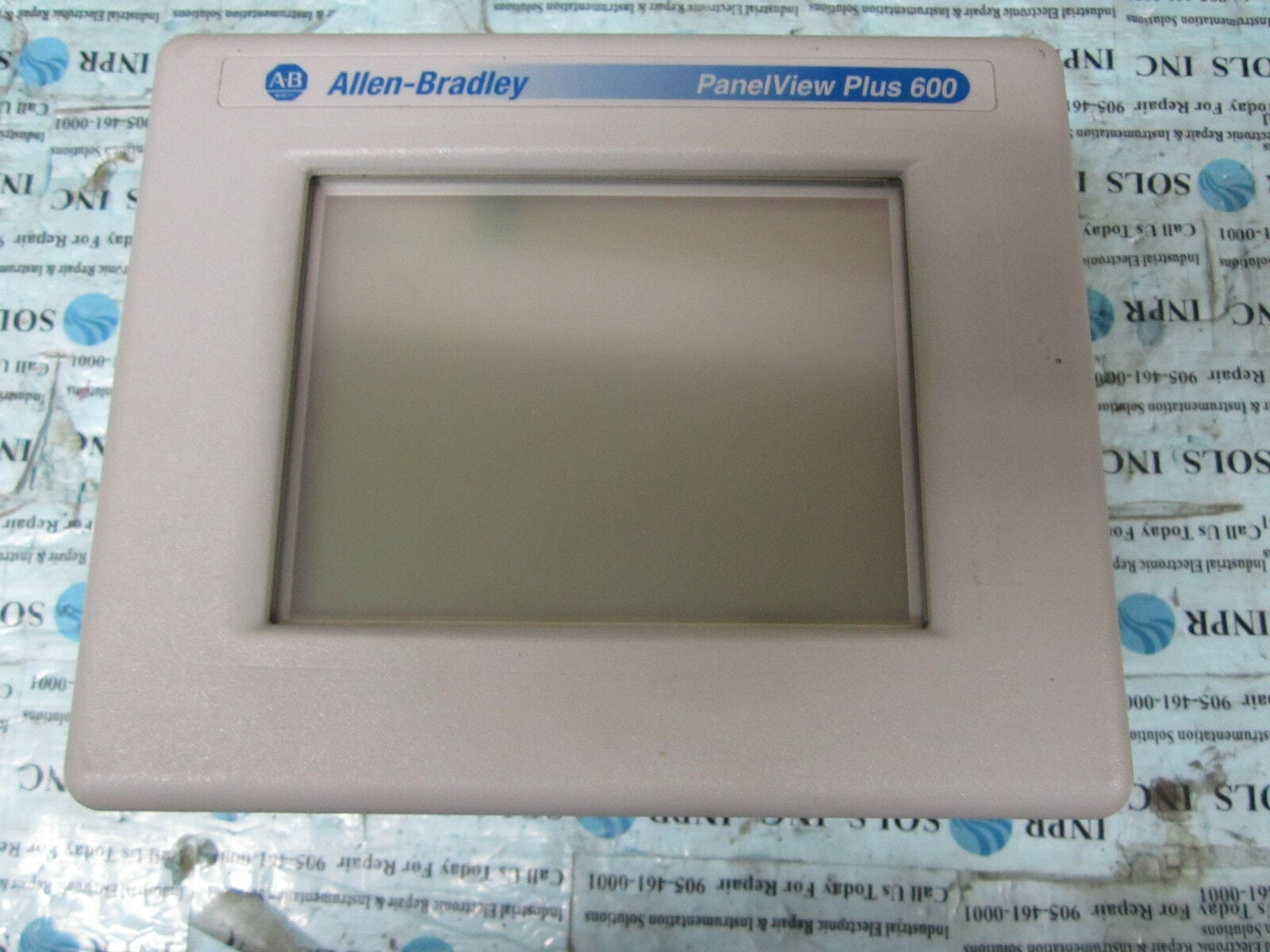 Allen Bradley 2711PC-T6M20D Panelview Plus Compact 600 Series C *Fully  Tested*