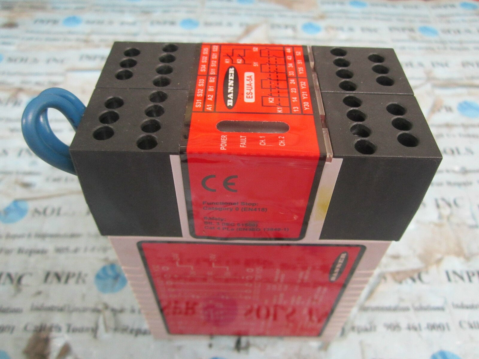 Banner Safety Relay Wiring on