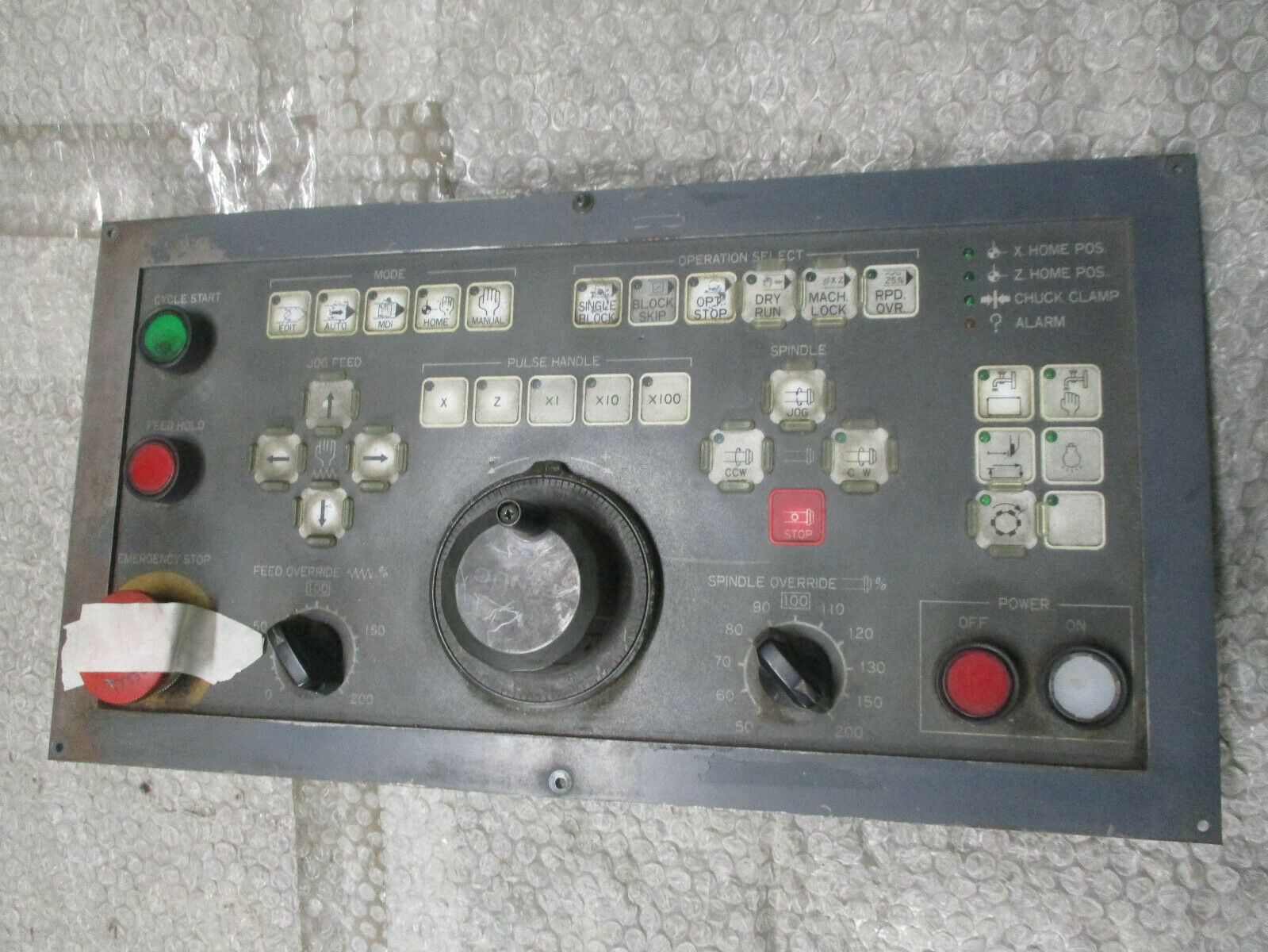 Fanuc Spindle CNC Interface Servo Control machine Panel A860-0202-T001  *TESTED*