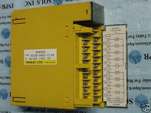 Fanuc Output Module A0A08E PLC Digital NEW A03B-0807-C158