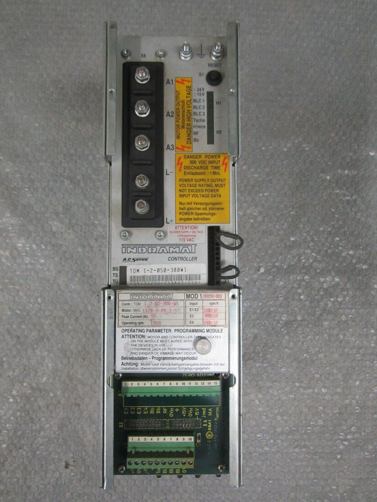 Indramat TDM 1.2-050-300W1
