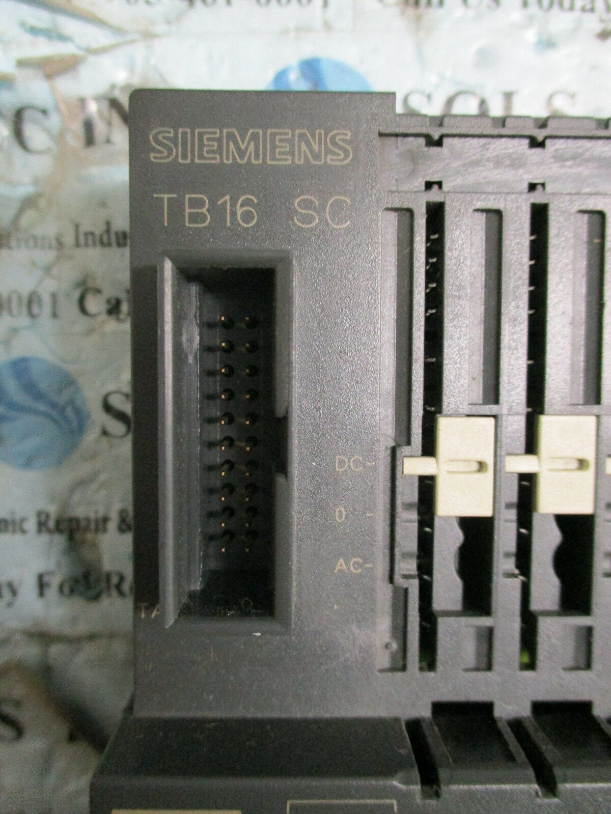 Siemens 6ES7120-0BH01-0AA0 Simatic TB16 SC Terminal Block Module *Fully  Tested*