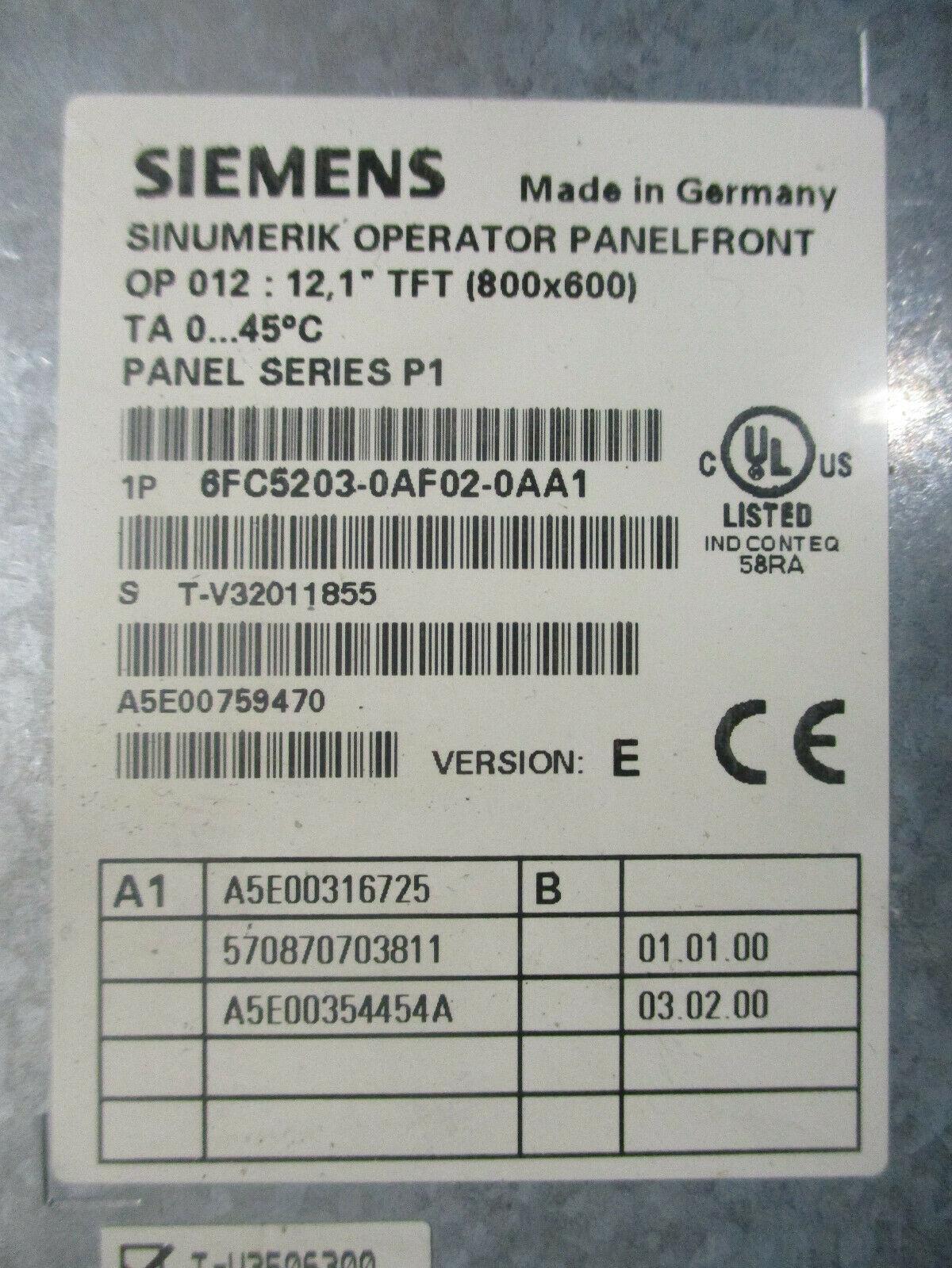 1PC Siemens OP012 6FC5203-0AF02-0AA0  button film